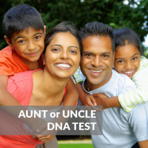 Aunt or Uncle DNA Test Kit