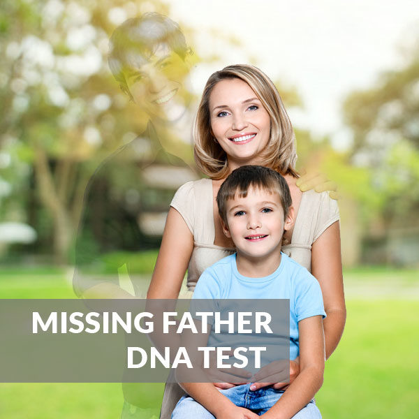 Missing Father DNA Testing Standard Test